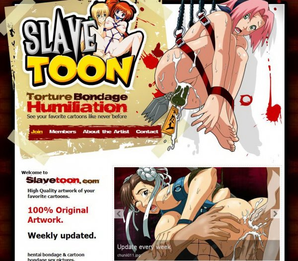 SlaveToon SiteRip