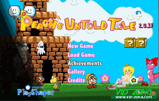 [FLASH] Peach's Untold Tale v.2.1.3