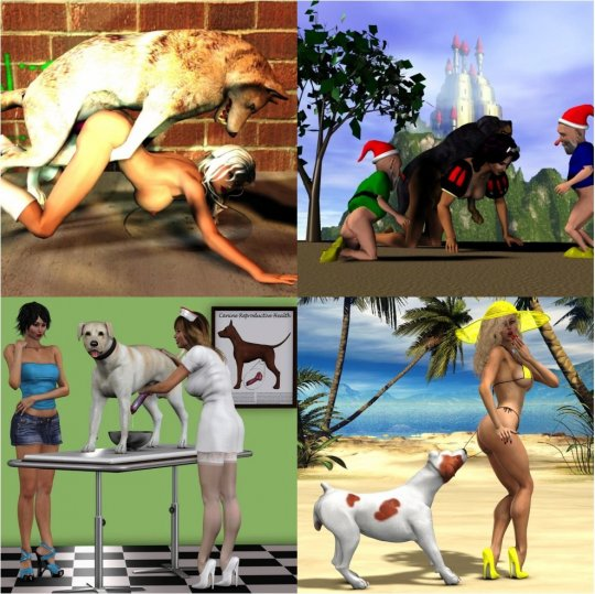 3D dog collection 2 (8 chapters)!!!