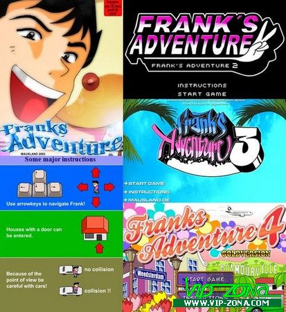 [FLASH]Frank's Adventure Vol.1-4