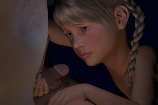 [3D video] lovely dauther(part 2)