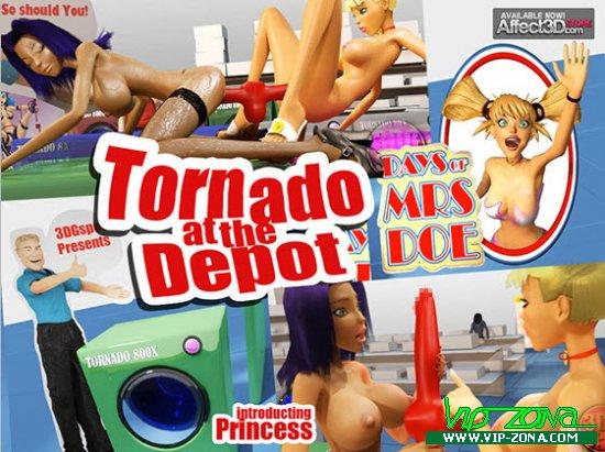 [3D Video]ornado at the Depot (3DGspot presents)
