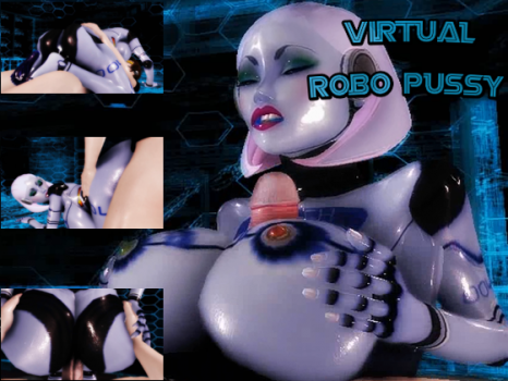 [3D Hentai Video]Virtual Robo Pussy