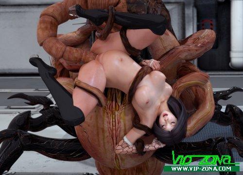 Порно с инопланетянами существами