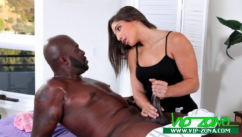 KinkySpa - Abella Danger - Horny Masseuse Massages the Steele [SD 540p]