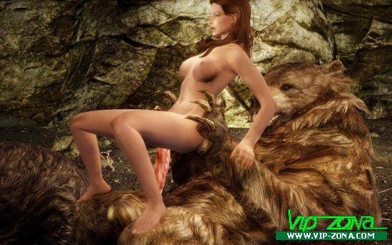 [Skyrim] Grin & Bear it Part 2- Temba's Secret Desire