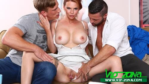 Tarra White - Hard DP with 2 strangers for my wife Tarra White (2018/FullHD)