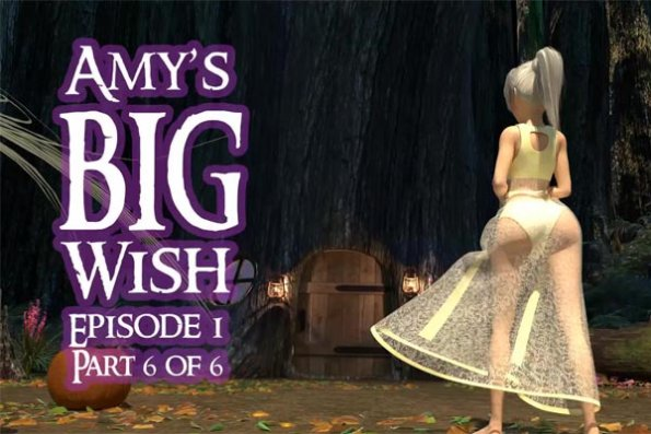 [3D Video] Ami`s BIG Wish Ep.1 part.6 (young, futa)